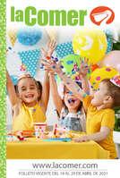 Ofertas de La Comer, Feliz día del niño - Alto