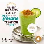 Ofertas de La Parroquia de Veracruz, Bebidas de verano