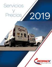 Servicios y precios 2019