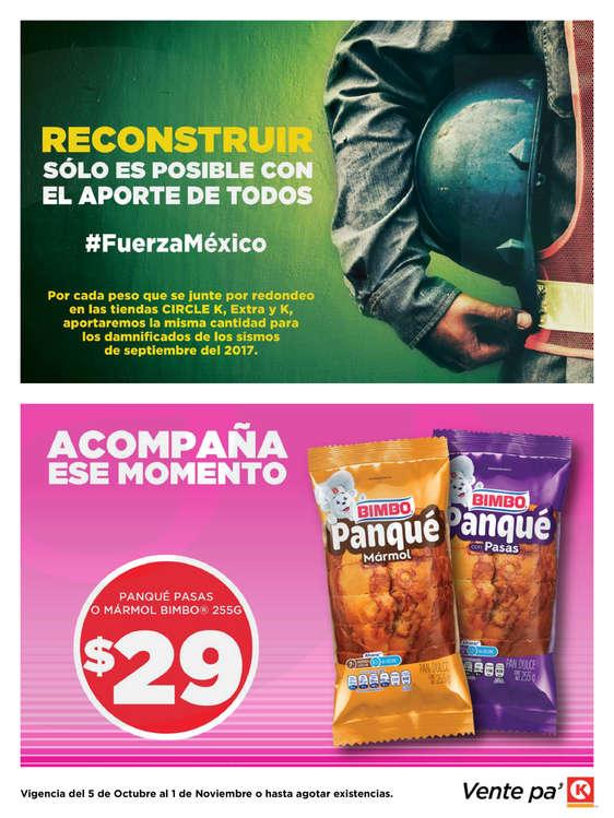 Ofertas de Circle K, Promociones CDMX, Edo. de México, Puebla, Toluca y Cuernavaca