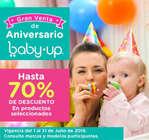 Ofertas de Baby Up, Gran venta de aniversario