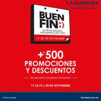 Buen fin +500 promociones y descuentos