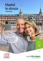 Ofertas de Viajes El Corte Inglés, Madrid te Abraza 2019