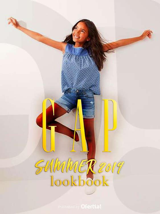 Ofertas de GAP, Lookbook Girls Summer