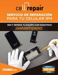 """""""CELL REPAIR MOBO"""" Servicio de reparación para tu celular"""