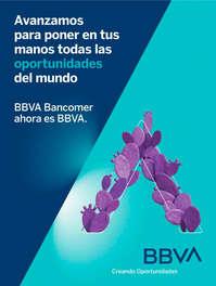 BBVA Bancomer es ahora BBVA