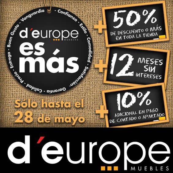 Ofertas de D'Europe, Deurope es más