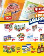 Ofertas de S-Mart, viernes sabado y domingo abarrotero - Tab