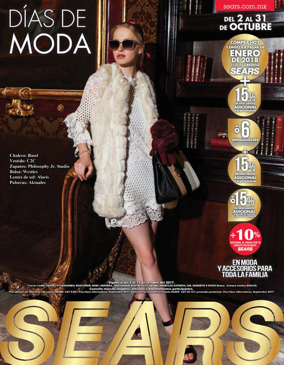 Ofertas de Sears, Días de Moda