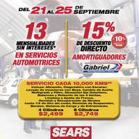 Promociones Sears Autocenter