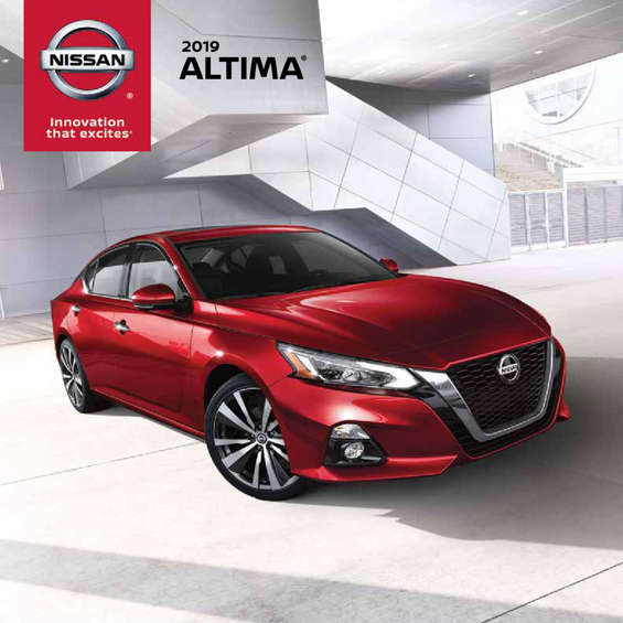 Ofertas de Nissan, Altima 2019