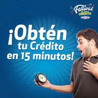 ¡Obtén tu crédito en 15 minutos!