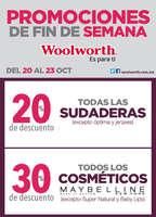 Ofertas de Woolworth, Promociones de Fin de Semana