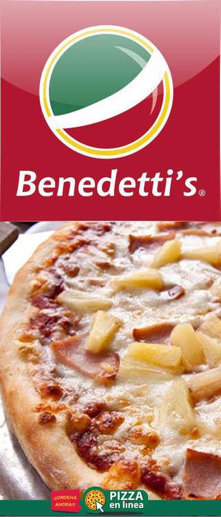 Ofertas de Benedettis, Menú