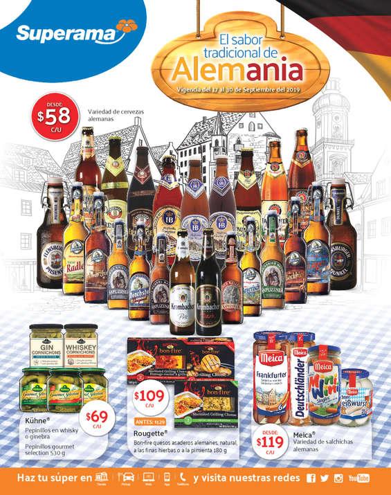Ofertas de Superama, El sabor tradicional de Alemania