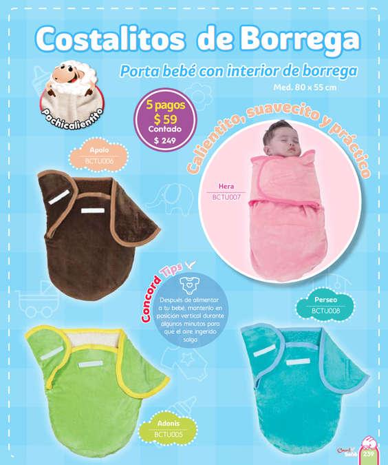 Ofertas de Colchas Concord, Catálogo Concord Bebé