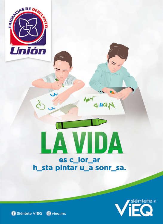 Ofertas de Farmacias Unión, Folleto Septiembre