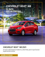 Ofertas de Chevrolet, Beat NB 2021