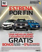 Ofertas de Renault, Estrena por fin