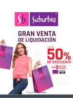 Ofertas de Suburbia, venta de liquidación