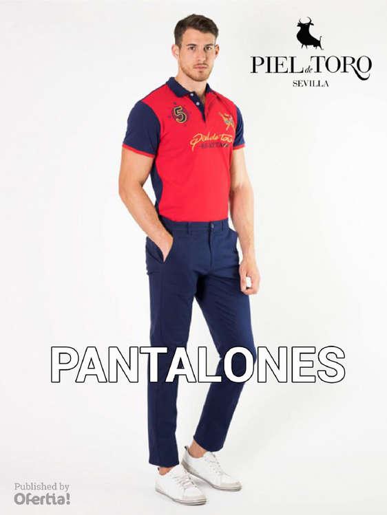 Ofertas de Piel de Toro, Pantalones Hombre