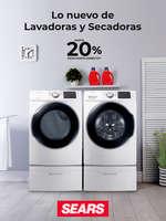 Ofertas de Sears, Lo nuevo de Lavadoras y secadoras
