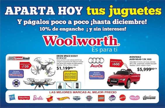 Ofertas de Woolworth, Aparta hoy tus juguetes