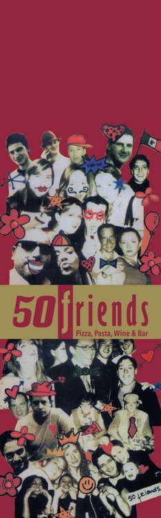 Ofertas de 50 Friends, Menú