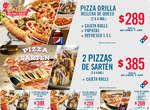 Ofertas de Domino's Pizza, Paquetes Domino's