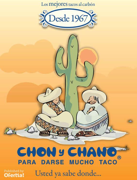 Ofertas de Chon y Chano, Menú