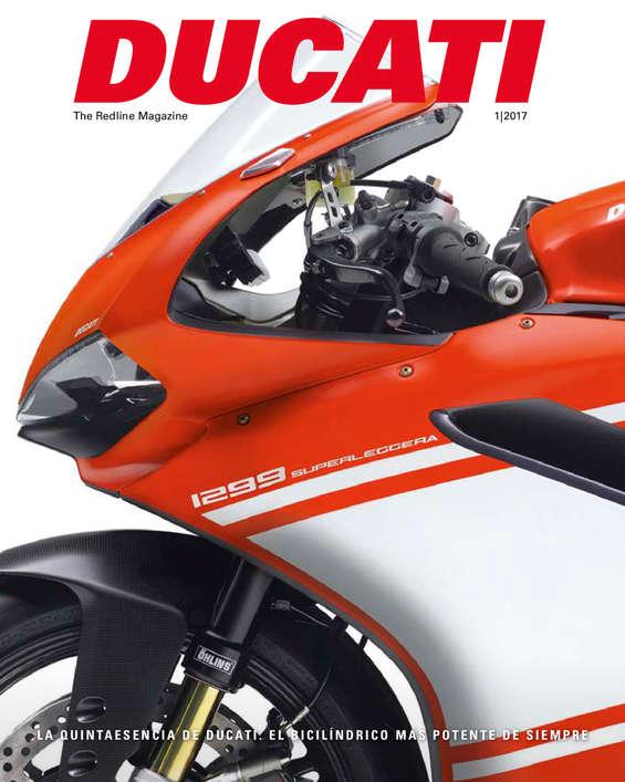 Ofertas de Ducati, Redline Magazine 2017 - Accesorios y más
