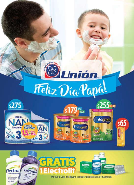 Ofertas de Farmacias Unión, Feliz Día Papá
