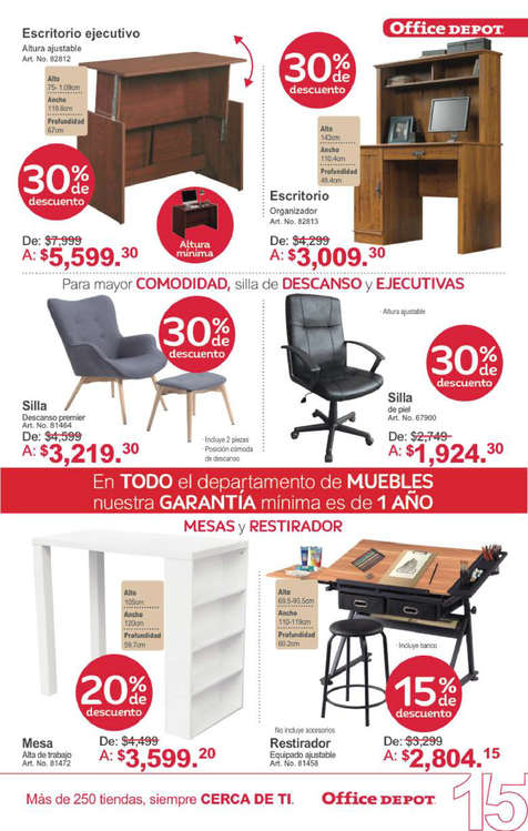 Mesas de oficina en azcapotzalco cat logos ofertas y for Catalogo de mesas