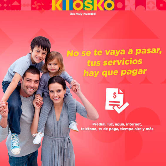 Ofertas de Kiosko, Paga tus servicios en kiosko