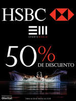 Ofertas de HSBC, HSBC + Sports World