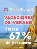 Ofertas de Price Travel, Vacaciones de verano - Hasta 67% de descuento