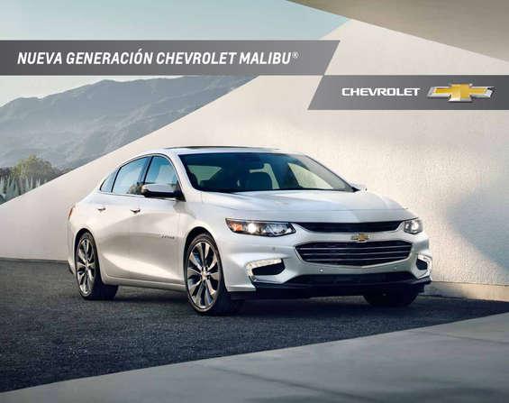 Ofertas de Chevrolet, Malibu 2017