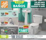 Ofertas de The Home Depot, Expo baños