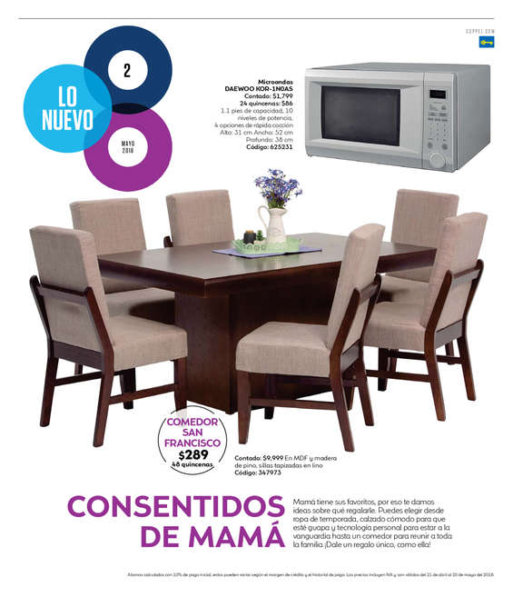 Sillas de comedor en Toluca de Lerdo - Catálogos, ofertas y tiendas ...