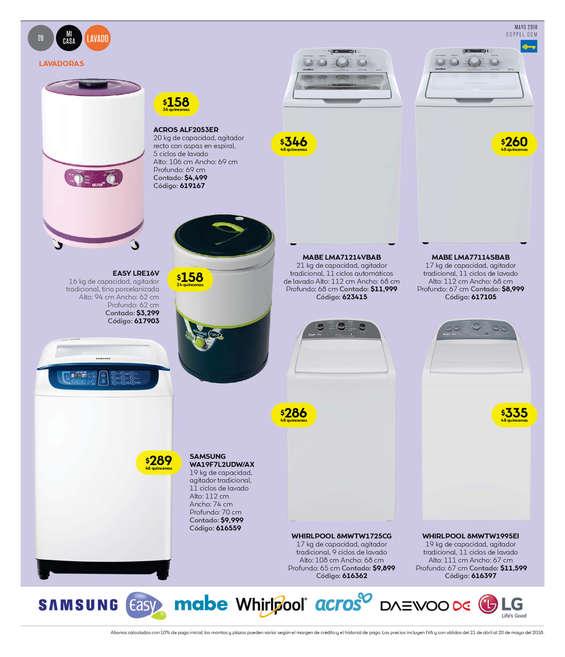 Ofertas y promociones de lavadoras en coppel ofertia - Lavadoras mejores marcas ...