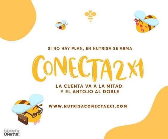 Ofertas de Nutrisa, Conecta 2x1