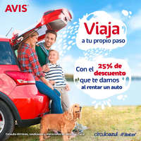 25% de descuento AVIS x Telcel