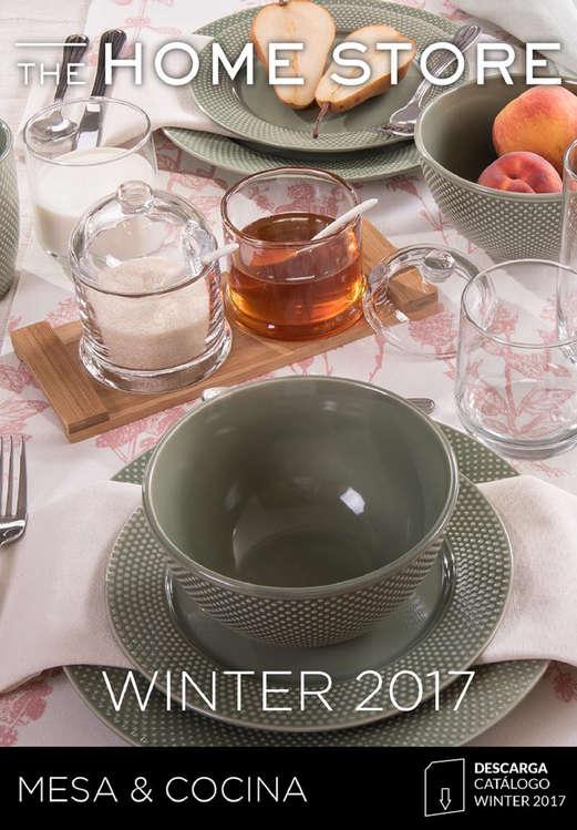 Ofertas de The Home Store, Winter 2017 MESA & COCINA