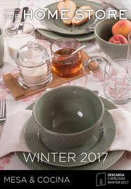 Winter 2017 MESA & COCINA