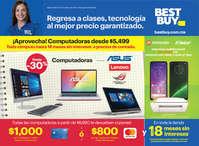 Regresa a clases, tecnología al mejor precio garantizado