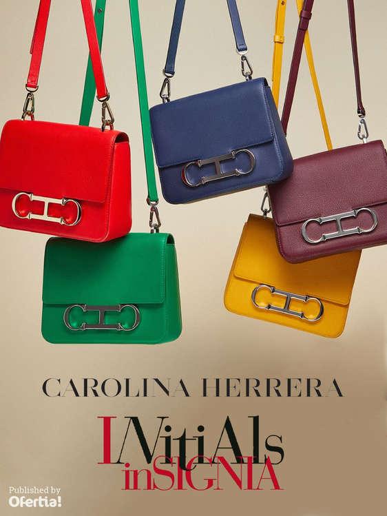 Ofertas de Carolina Herrera, Initials Insignia