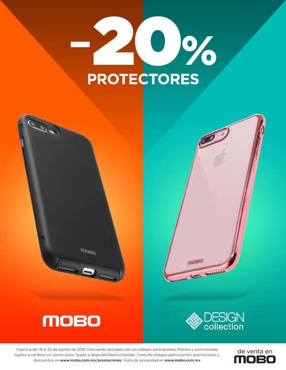 Ofertas de Mobo, 20% de descuento en protectores