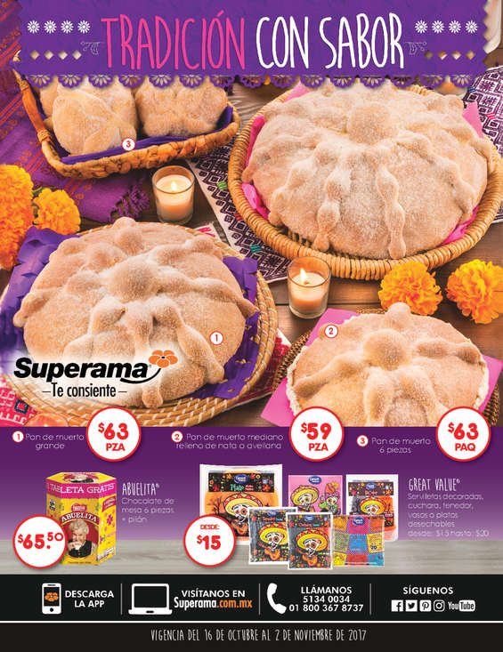 Ofertas de Superama, Tradición con sabor