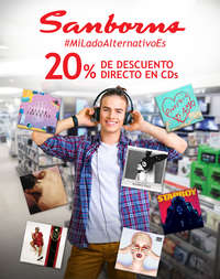 20% de descuento en CDs