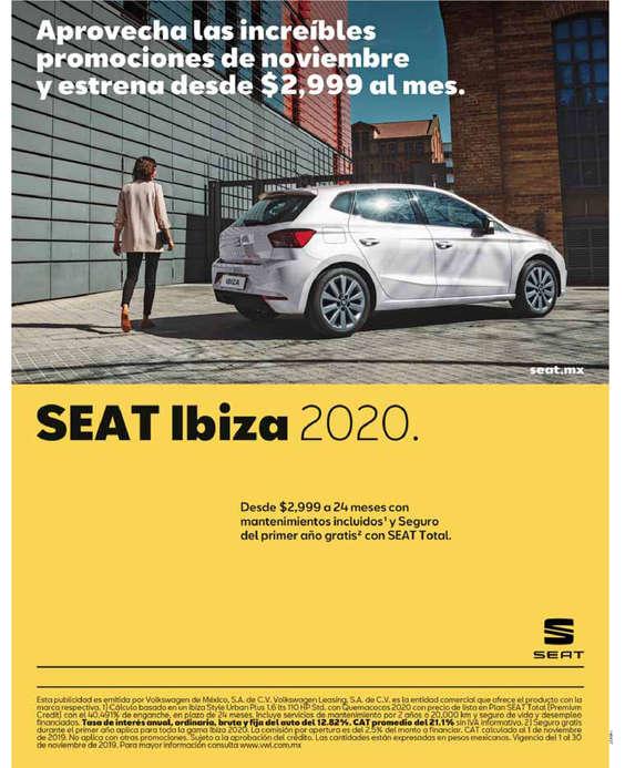 Ofertas de SEAT, SEAT Ibiza 2020